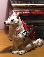 Okami Clay by AmethystCreatures