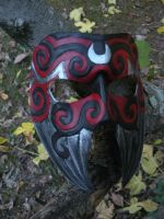 Mask of the Morrigan by SilverCicada
