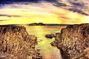 Welcome Newfoundland Sunset 2 by Witch-Dr-Tim