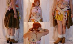 Vanille costume from angles by ranerdis