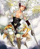 White Swan Valkyrie by Ernz1318