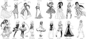 Designs by popcorncomics