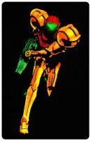 Run, Samus by mrdeflok