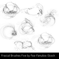 Fractal Brushes Five by Fea-Fanuilos-Stock