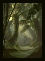 Jungle Speedpainting. by Peeeetah