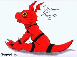 Guilmon - Digimon Tamers by pdutogepi