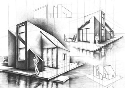 house on the water- project by Kosa666