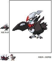 Dark Hawk: Darkrai-Dex 9 by SuperSonicGX