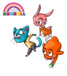the amazing world of gumball by killerkit101