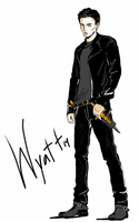 The Sanctum Characters:Wyatt by HanaKuraArt