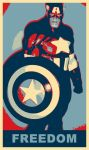 Captain America Freedom by TheGreatDevin