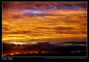 Fire Sky by Mirlenges