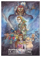 Zelda Wars VI: The Ocarina of Time by IAmNotAPorkChop