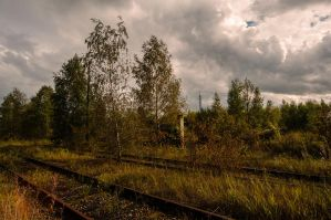 The end of line by IanMcAllister