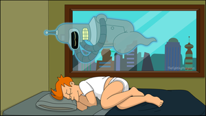 Bender The Friendly Ghost by TheFightingMongooses