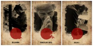 Disaster Poster_triptych.. by Fe-Nicks