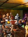 Katraassi Cantina - Mysteries of the Sith by Clonehunter