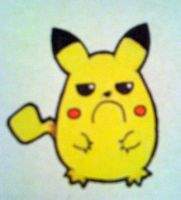 Fat Pikachu is not Amused by musical-onigiri