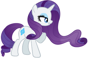 My version Rarity  by Note-Presto-Pony