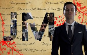 James ''Jim'' Moriarty -  Sherlock Wallpaper by SonicTheHedgehogBG