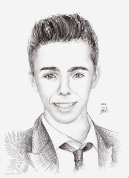 Gift: Nathan Sykes by Drerika