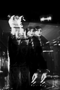 girls behind the glass by EmilyaManole