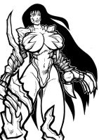 manga witchblade by 11ZOMBIES