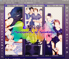 Pack PNG 5SOS by USucks