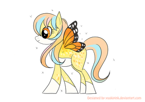Adoptable Auction Set 02: Pony #2 (SOLD) by yuukipink