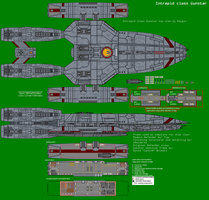 Intrepid class Gunstar by XRaiderV1