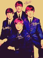The Beatles Color Manip. 4 by WilburRobinsonsGirl