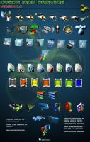 Cyron Icon Package by Xengraphics