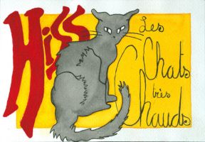 Chats tres Chauds - Hiss by nippyfrog