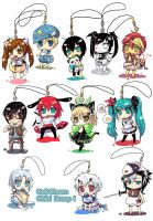 Chibi Charms DUMP One by c-ong