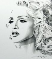 Madonna by LightCircleArt