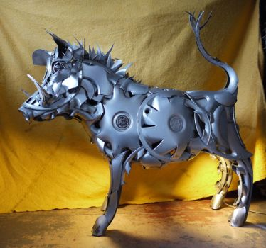 Wild Boar 2 by HubcapCreatures