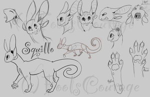 NEW Squillo Anatomy Sheet by FoolsCourage