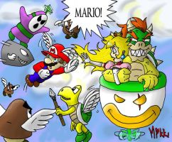 Mario: Save me by MagicMikki