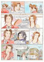 Adella and Aerith the meeting by CJ-DB