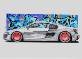 Audi R8 by MishoH