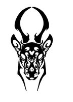 Tattoo concept - Tribal Impala by Penastuff