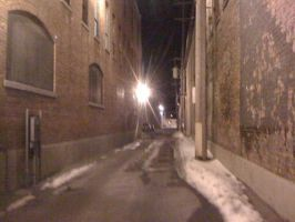 old small town alley way by capturedpoetry
