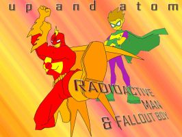 RadioactiveMan and FalloutBoy by MrLarry
