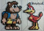 Banjo and Kazooie by PerlerPixie