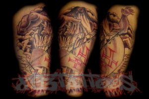 adamastor by gil893tattoos