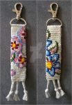Two Sides Flowers Keychain 3 by lonely--soldier