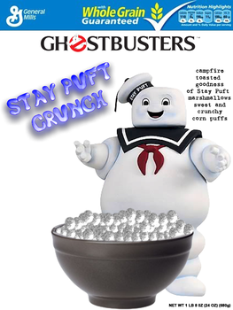 Stay Puft Crunch Cereal by FearOfTheBlackWolf