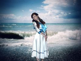 Anastasia and the Sea by Azabeth-Sich
