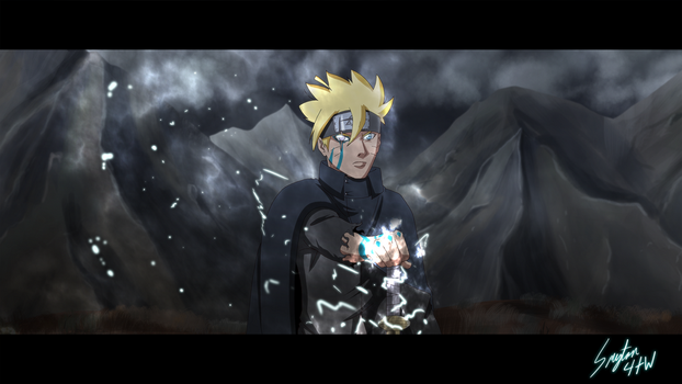 Adult Boruto by Smyton4tw