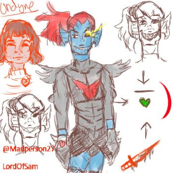 Undyne The Undying by LordOfSam